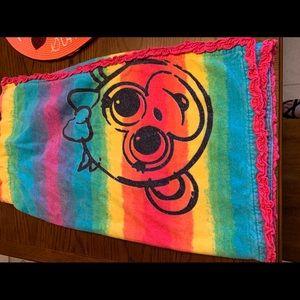 Monkey Rainbow Bath wrap
